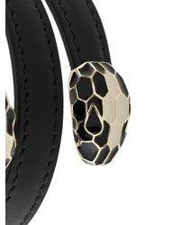 BVLGARI - Black Serpenti Bracelet - Lyst