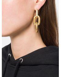 Ambush - Metallic Chain Link Earrings - Lyst