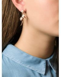 Shaun Leane - Metallic 'cherry Blossom' Diamond Earrings - Lyst