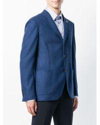 Lardini - Blue Tailored Blazer for Men - Lyst
