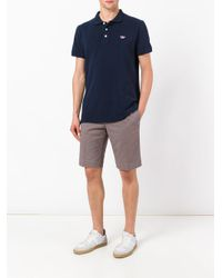 PT01 - Brown Bermuda Shorts for Men - Lyst