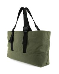 DSquared² - Men's Green Canvas Tote for Men - Lyst