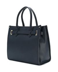 Tommy Hilfiger - Blue Printed Shopper Tote - Lyst
