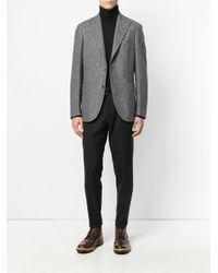 Boglioli - Black Patterned Blazer for Men - Lyst