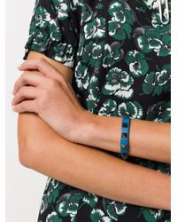 Valentino - Blue Garavani Rockstud Bracelet - Lyst