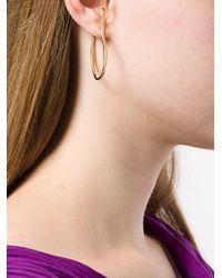 Faris - Metallic Vinea Hook Earrings - Lyst