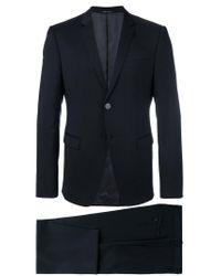 Emporio Armani - Blue Formal Suit for Men - Lyst