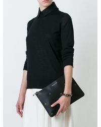 Givenchy - Black - Micro Cross Clutch - Women - Calf Leather - One Size - Lyst