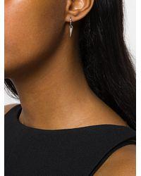 FEDERICA TOSI - Metallic Cubic Zirconia Cone Earrings - Lyst