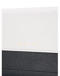Marni - Gray Colour Block Crossbody Bag - Lyst