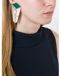 Eshvi - Multicolor Nino Eliava X 'lava' Clip-on Earrings - Lyst