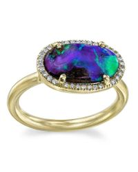 Irene Neuwirth Blue Opal Ring