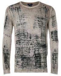 Avant Toi - Gray Crew Neck Sweater for Men - Lyst