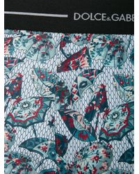 Dolce & Gabbana - Blue Umbrella Print Boxers for Men - Lyst