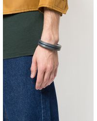 Parts Of 4 - Gray Crescent Crevice Bracelet for Men - Lyst