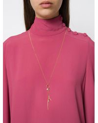 Wouters & Hendrix - Metallic 'spikes, Pearls And Claws' Long Necklace/earring - Lyst