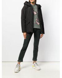 Peuterey - Black Zipped Hooded Jacket - Lyst