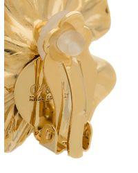 Ca&Lou - Metallic Isaer Crystal Earrings - Lyst