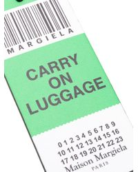 Maison Margiela - Green Luggage Keyring - Lyst