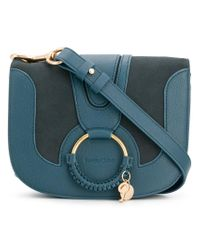 See By Chloé - Blue Hana Shoulder Bag - Lyst