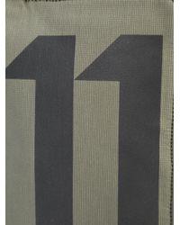 Boris Bidjan Saberi 11 - Green Logo Print Bumbag Wallet for Men - Lyst