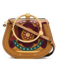 Chloé - Brown Nile Shoulder Bag - Lyst