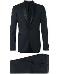 Tagliatore - Blue Two Piece Suit for Men - Lyst