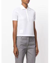 Thom Browne - White X Colette Polo Shirt - Lyst
