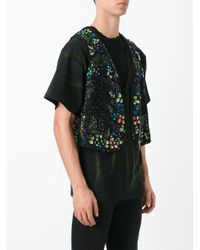 Faith Connexion - Black Embellished Waistcoat for Men - Lyst