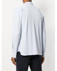 Z Zegna - Blue Classic Shirt for Men - Lyst