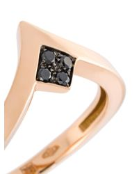 Anapsara - Metallic 'pinky' Ring - Lyst