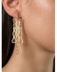 Antonio Bernardo - Metallic 'fertil' Earrings - Lyst