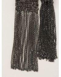 Christian Koban | Black 'woven' Necklace | Lyst