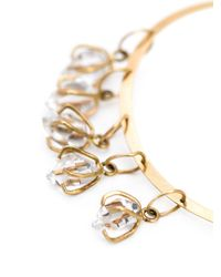 Melissa Joy Manning - Metallic Herkimer Diamond Hoop Earrings - Lyst