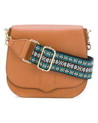 Rebecca Minkoff - Brown Sunny Saddle Bag - Lyst