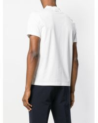 Prada - White Classic V-neck T-shirt for Men - Lyst