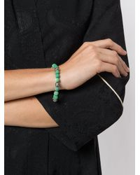 Monan - Green Beaded Bracelet - Lyst