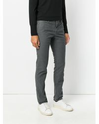 Incotex | Gray Straight-leg Jeans for Men | Lyst