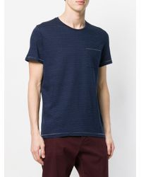 Dondup - Blue Classic Fitted T-shirt for Men - Lyst
