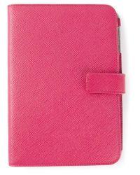Smythson - Pink Ipad Mini Case - Lyst