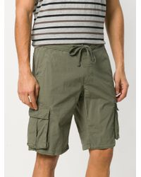 Woolrich - Green Cargo Shorts for Men - Lyst