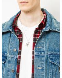 Ambush - Metallic Teddy Bear Charm Necklace for Men - Lyst