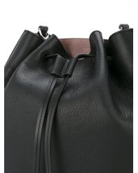 J.W. Anderson - Black Drawstring Bucket Bag - Lyst