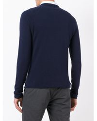 Aspesi - Blue Japanese Yarn Sweatshirt for Men - Lyst