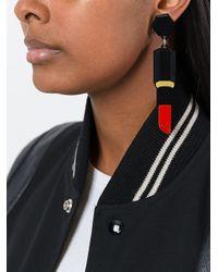 Yazbukey - Black 'earyper' Earrings - Lyst