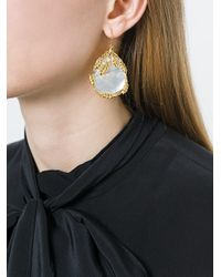 Aurelie Bidermann | Metallic 'françoise' Earrings | Lyst