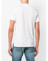Tom Ford - White Henley T-shirt for Men - Lyst