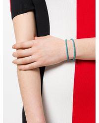 Bottega Veneta - Blue Aqua Intrecciato Nappa Bracelet - Lyst