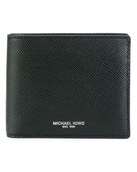 Michael Kors - Black 'harrison' Wallet for Men - Lyst