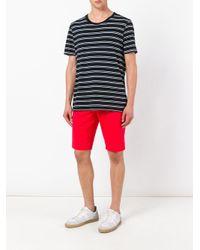 PT01 - Red Bermuda Shorts for Men - Lyst